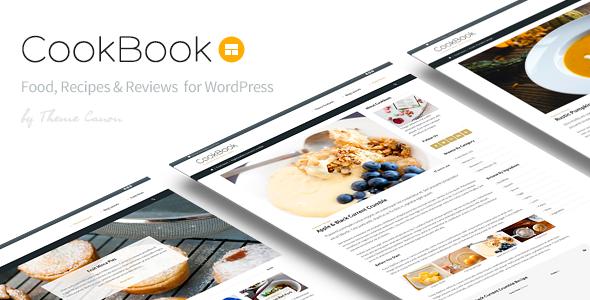 CookBook v1.15 — Food Magazine Blog