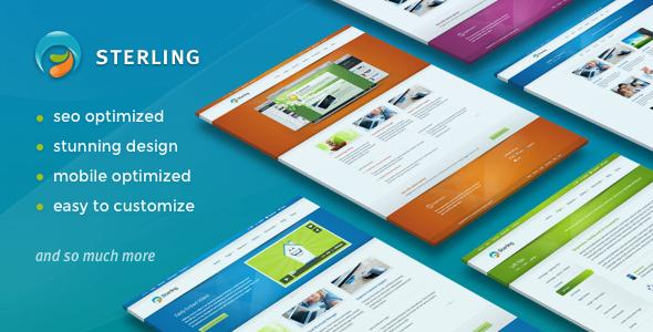 Sterling v2.6.8 — Responsive WordPress Theme