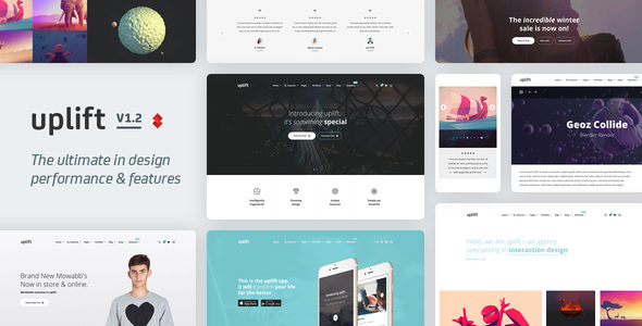 Uplift v1.3.73 — Responsive Multi-Purpose WordPress Theme