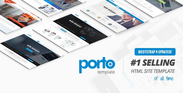 Porto v6.0 — Responsive HTML5 Template