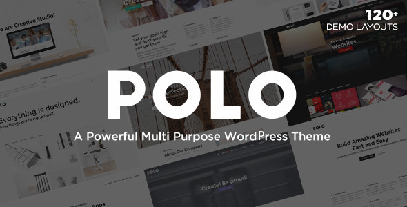 Polo v1.4 — Responsive Multi-Purpose WordPress Theme