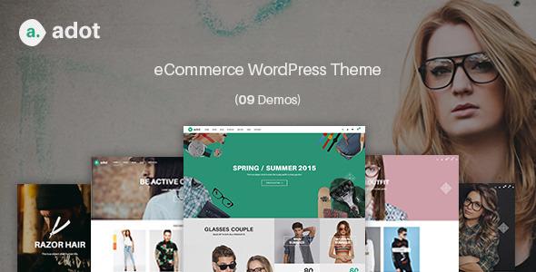 adot v2.5 — eCommerce WordPress Theme