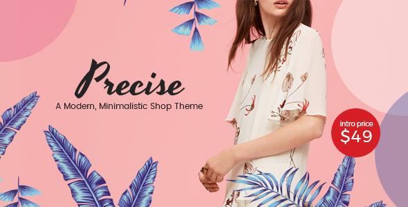 Precise v1.3 — A Modern, Minimalistic Shop Theme