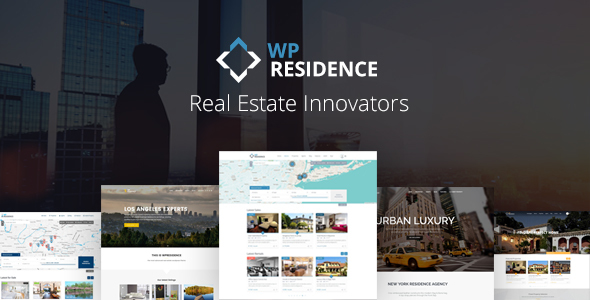 WP Residence v1.30.7.1 — Real Estate WordPress Theme