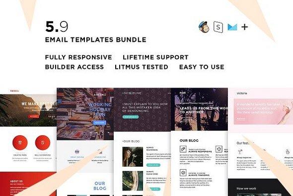Clients pack — 5 Email Templates Bundle