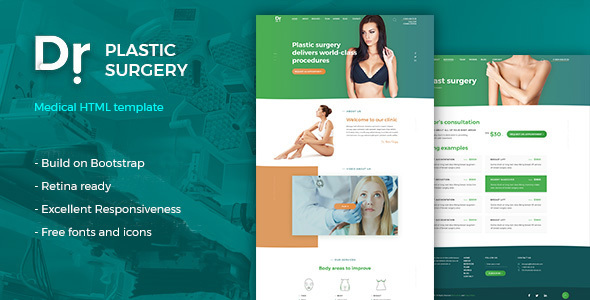 Dr. Plastic Surgery v1.0 — HTML Template
