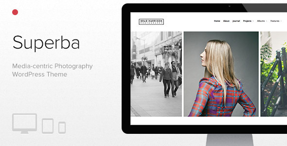 Superba v1.0.30 — Media-centric Photography WordPress Theme
