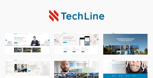 TechLine v1.4.5 — Web services and business theme