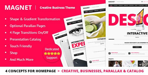 MAGNET v2.0 — Creative Business WordPress Theme
