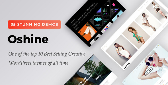 Oshine v6.2 — Creative Multi-Purpose WordPress Theme