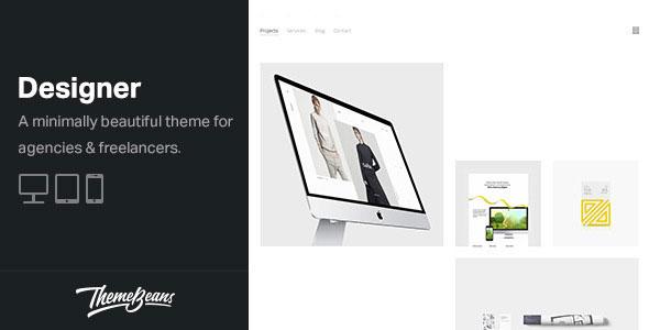 Designer v1.6.7 — Professional WordPress Portfolio Theme