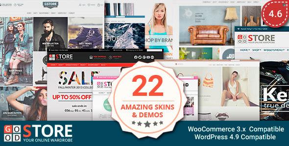 GoodStore v4.6 — WooCommerce Theme