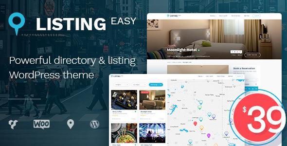 ListingEasy v1.2.4 — Directory WordPress Theme