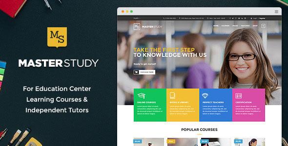 Masterstudy v1.9.1 — Education Center WordPress Theme