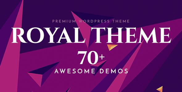 Royal v4.1 — Multi-Purpose WordPress Theme