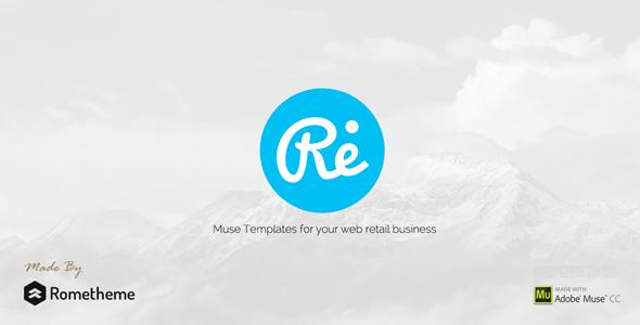 RE — Multi-purpose Responsive Muse Templates