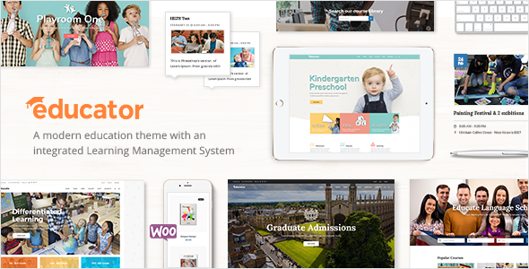 Educator v1.0 — Education and Learning Management System Theme