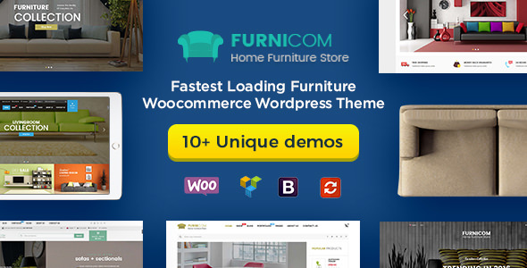 Furnicom v1.7.2 — Fastest Furniture Store WooCommerce Theme
