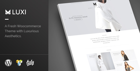 Luxi v2.0 — Luxury Elegant WooCommerce WordPress Theme