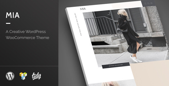Mia v1.0 — Creative Fashion WordPress WooCommerce Theme