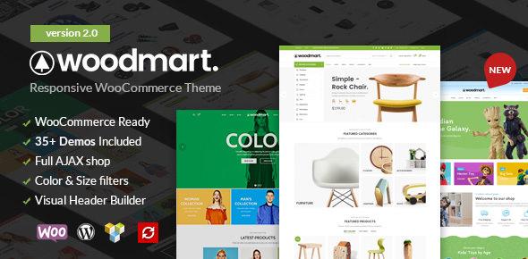 WoodMart v2.0.0 — Responsive WooCommerce WordPress Theme