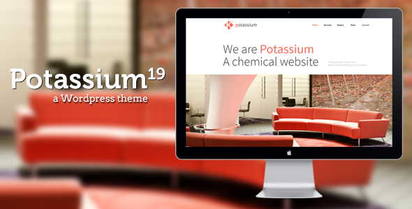 Potassium — Responsive One Page WP Theme