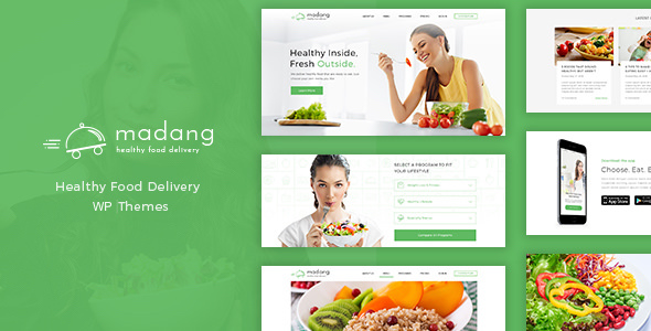 Madang v1.6.5 — Healthy Food Delivery Nutrition Theme