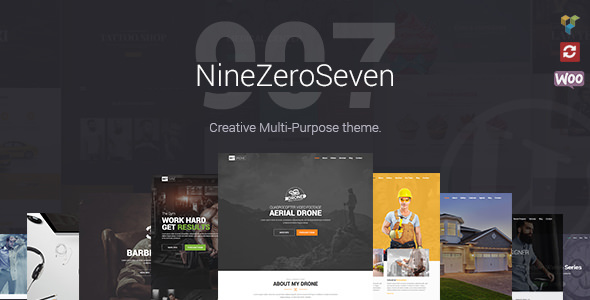 907 v4.1.2 — Responsive Multi-Purpose Theme