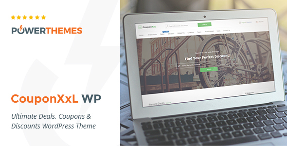 CouponXxL v1.9.3 — Deals, Coupons & Discounts WP Theme