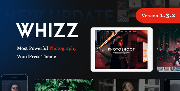 Whizz v1.3.9 — Photography WordPress for Photography