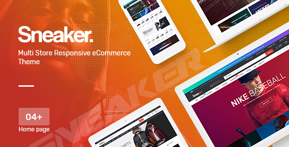 Sneaker — Shoes Responsive OpenCart Theme (Included Color Swatches)