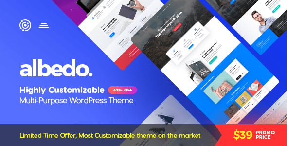 Albedo v1.0.22 — Highly Customizable Multi-Purpose Theme