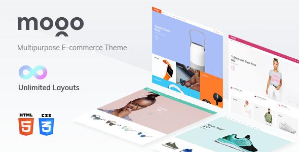 MOGO v1.0 — eCommerce HTML template, electronics store
