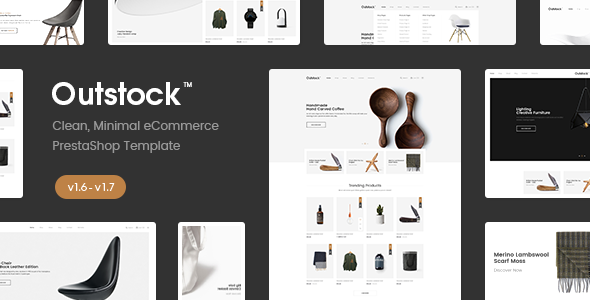 Outstock v1.1 — Responsive PrestaShop 1.6 — 1.7, Electronic ,Fashion, Shopping, furniture — Multi Store