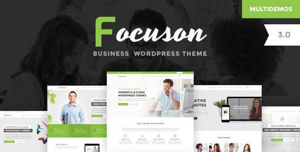 Focuson v3.0 — Business WordPress Theme