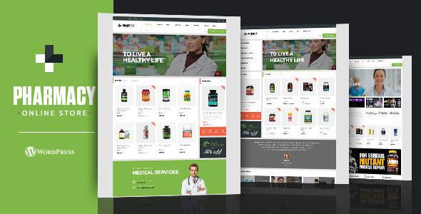 Pharmacy v1.9.0 — WooCommerce WordPress Responsive Theme