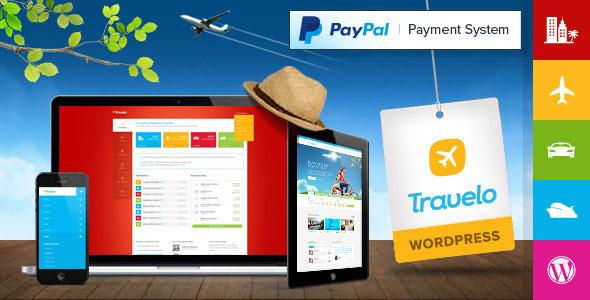 Travelo v2.0.0 — Travel/Tour Booking WordPress Theme