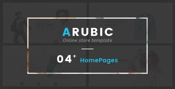 Arubic v1.0 — Fashion Responsive OpenCart Theme