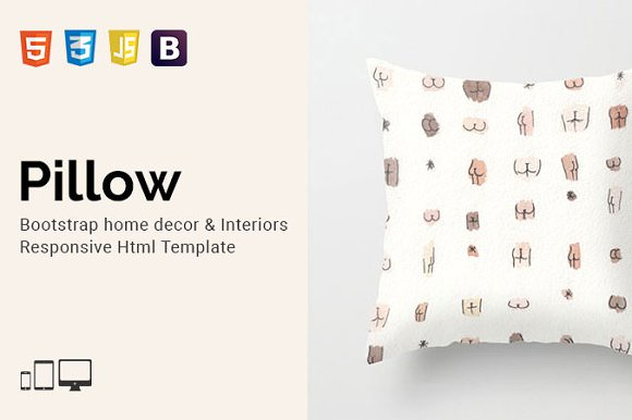 Pillow v1.0 — Home Decor Html Template