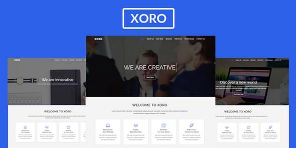 Xoro — Multipurpose HTML5 Template
