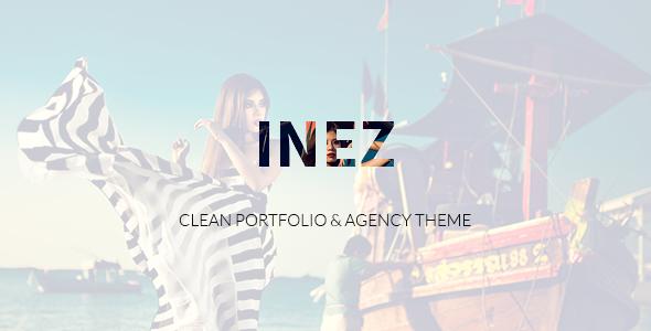 Inez v1.1.2 — Clean Portfolio & Agency Theme