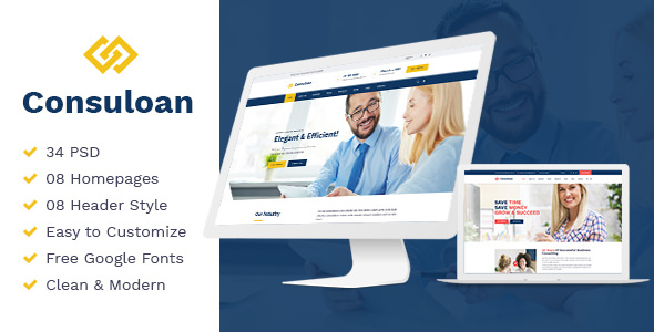 Consuloan — Multipurpose Consulting HTML Template