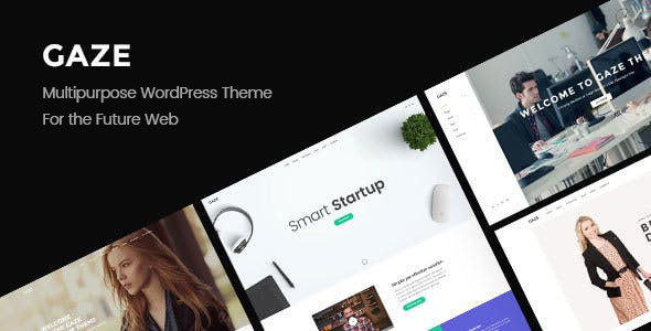 Gaze v1.0.1 — Responsive Multipurpose WordPress Theme
