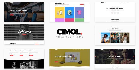 Cimol v1.2 — Responsive One Page Theme