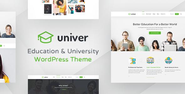 Univer v1.25 — University WordPress Theme
