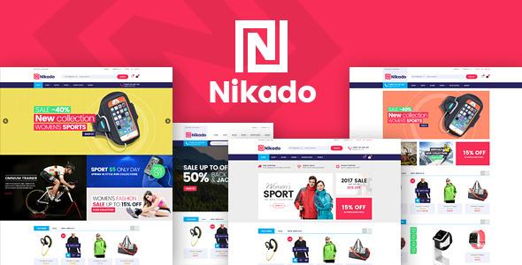 Nikado v1.0 — Responsive Theme for WooCommerce WordPress