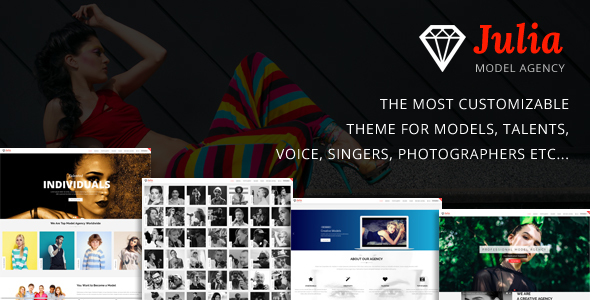 Julia v1.7.3 — Talent Management WordPress Theme