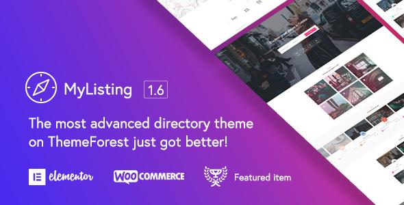 MyListing v1.6.2 — Directory & Listing WordPress Theme