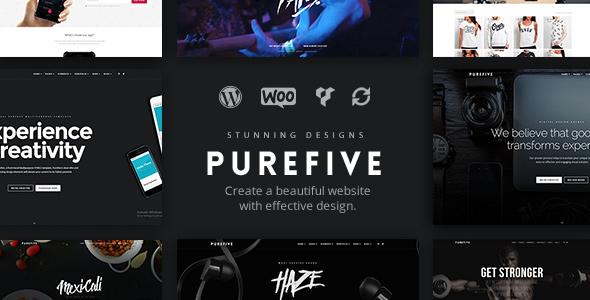 Purefive v1.0.4 — Multipurpose, Multiconcept Theme