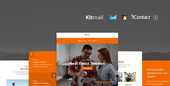 Kit Mail v1.0 — Responsive E-mail Template + Online Access